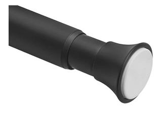 Amazon basics Tension Curtain Rod   78 108  Black 78 108