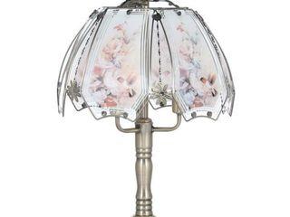 Divine Designs Elegant Homes Touch Brass lamp