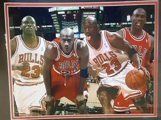 Michael Jordan Chicago Bulls Collage