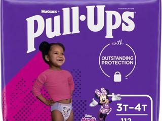 Pull Ups Girls Training Pants 3T 4T   112 Pack