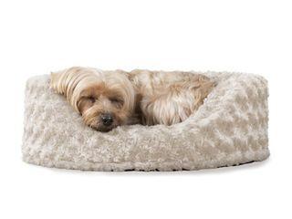 Furhaven Pet Oval Ultra Plush Pet Bed
