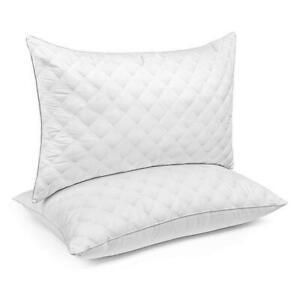 SorMag luxury Soft Pillows   Set of 2