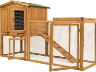 Ogrmar Rabbit Hutch Chicken Coop