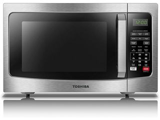 Toshiba 1 2CUFT Microwave Oven w  Smart Sensor Easy Clean