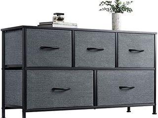 5 Fabric Drawers in Nice Dresser