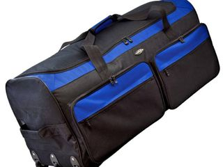 Travelers Club Collapsible Rolling Duffel