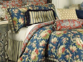 Waverly Sanctuary Rose Bedding Collection   Queen