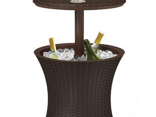 Keter Pacific Cool Bar Outdoor Patio Furniture