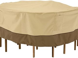 Classic Accessories Synch Outdoor Patio Table Cover