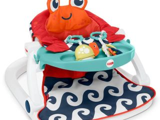 Fisher Price Sit Me Up Floor Seat w  Tray Crab