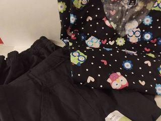 Womens 2x Scrubs Top   2 Pants