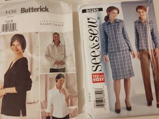 Womens Sewing Patterns NEW Size 12 16