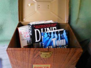 Portable File Cabinet   3 Books