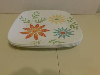 Corel Dishes  4 ea