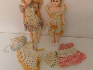 Vintage Dolls  2 ea