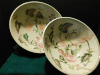 Floral Design Bowls  2 ea