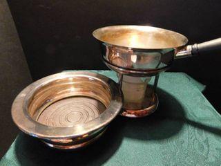 Silver Double Broiler