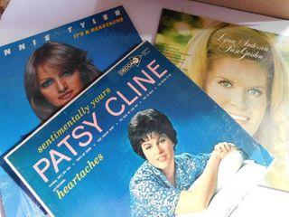 1048 3 vintage albums Patsy Cline s