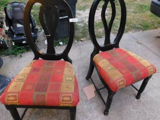 Side Chairs  pair available