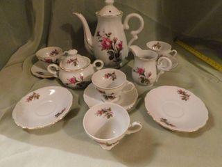 Dainty China Tea Set