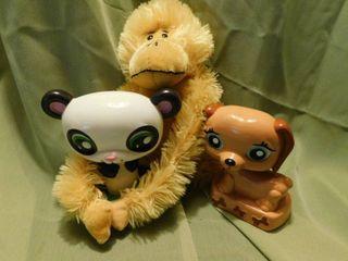 Kids lot Figurine   Monkey