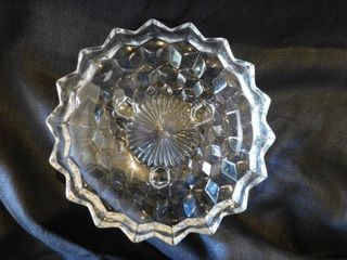 Crystal Footed Candy Dish