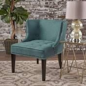 Christopher Knight Home Adelina Dark Teal Accent Chair