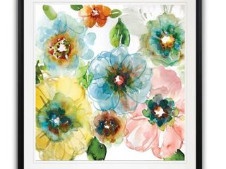 30X30  Blooming of Spring I  Framed Giclee Print