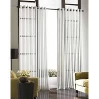 Pair of Soho Voile light Weight Sheer Grommet Curtains