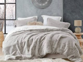 Coma Inducer Oversized Stone Taupe Comforter Retail 227 49