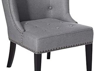Christopher Knight Home Adeline Gray Accent Chair
