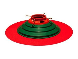 32  diameter  color red  Christmas Tree Stand Mat