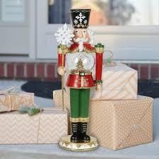 Exhart Hand Painted Nutcracker with lED