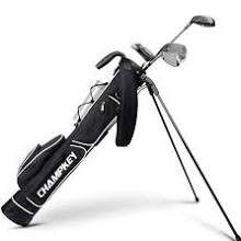 Black Champkey Golf Bag