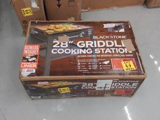 28  Griddle Cooking Station   Black   Blackstone