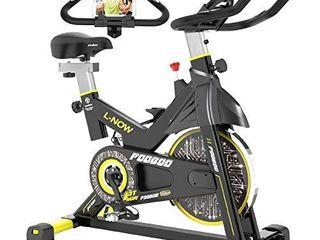 pooboo Indoor Cycling Bike  Belt Drive Indoor Exercise Bike Stationary Bike lCD Display for Home Cardio Workout Bike Training