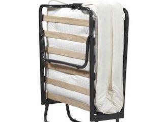 linon Home Dcor linon Memory Foam luxor Folding Bed  Single  Beige