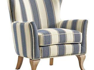 Dorel living Reva Accent Chair  Blue