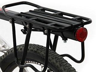 ThreeH Bicycle Rear Rack Adjustable Aluminum Alloy Bike Rack with Reflector BK431