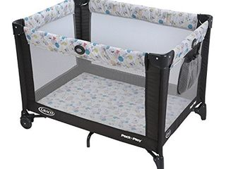 Graco Pack  n Play Playard with Automatic Folding Feet  Carnival