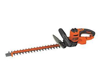 BlACK DECKER Hedge Trimmer with Saw  20 Inch  BEHTS300  DAMAGED