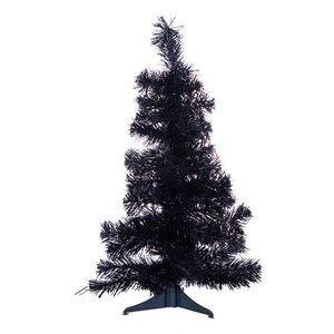Black Pre lit Xmas Tree