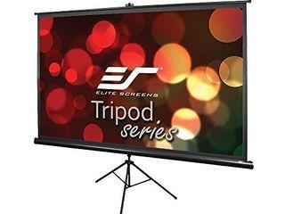 Elite Screens Tripod Series  60 INCH 16 9  Indoor Outdoor Projector Screen  8K   4K Ultra HD 3D Ready  T60UWH