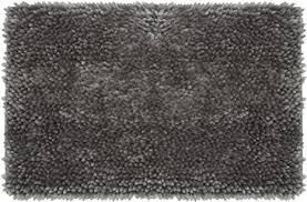 Dark Grey   20  x 34  Juicy Couture Butter Chenille Bath Rug