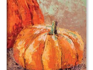 ArtWall leslie Saeta s  Fall Harvest  Gallery Wrapped Canvas