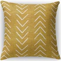 16X16  Mudcloth Accent Pillow by Kavka Designs