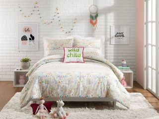 Twin  Jessica Simpson Kids Whimsical Paisley Comforter Set Retail 99 98