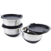 Wolfgang Puck 6 piece Non Skid Stainless