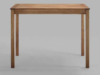 Acacia Wood Counter Height Table   Brown