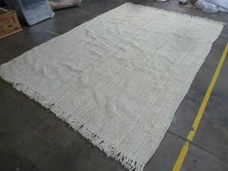 9  x 12  Woven Off White Area Rug